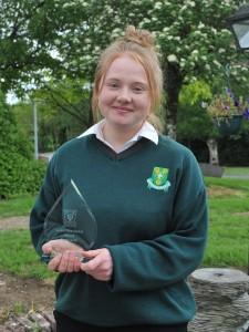 Nicole Shelly, Best Leaving Cert Student