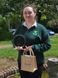 Lorraine O'Connor, Student of The Year 2016