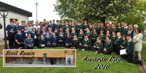 The Scoil Ruáin Award Winners 2015-16
